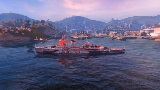 """图3:""""平海""""舰联动涂装.jpg"""