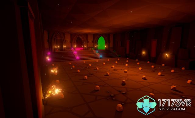 地狱冒险也可爱! 满地都是小白的低像素VR游戏
