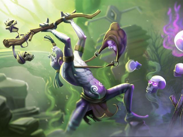 刀塔自走棋:上分常青树强势崛起,新版巨魔骑吃鸡攻略