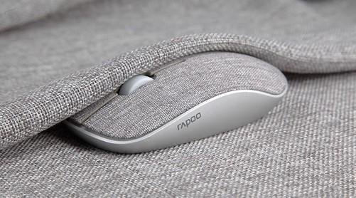 """型而""""布""""凡,多屏切换,雷柏M200 PLUS多模式布艺无线鼠标上市的"""