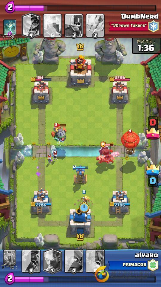 王子VS黑暗王子:谁是更强的冲锋卡牌