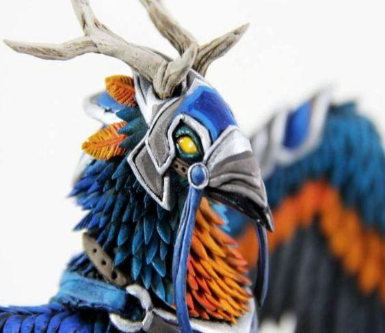 周边:国外玩家制作的塞纳里奥作战角鹰兽