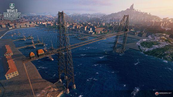 战舰世界亚服全新港口马赛港抢先看