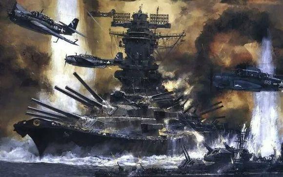 战舰世界 满血大和是这样一轮被干掉的!