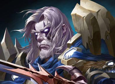 魔兽同人画分享 死亡骑士萨萨里安参上