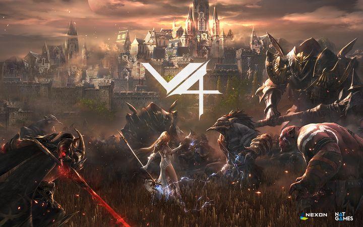 NEXON旗下手游新作《V4》公开 游戏视频放出_网络