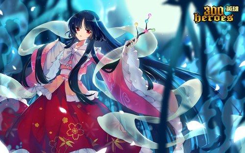《300英雄》蓬莱山辉夜新年服饰上线 月之公主的梦