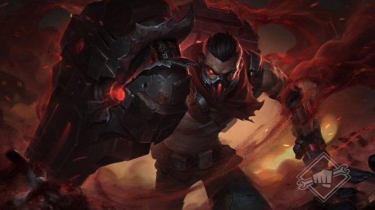 《英雄联盟》公开新皮肤概念图,霸气龙王,龙拳盲僧!