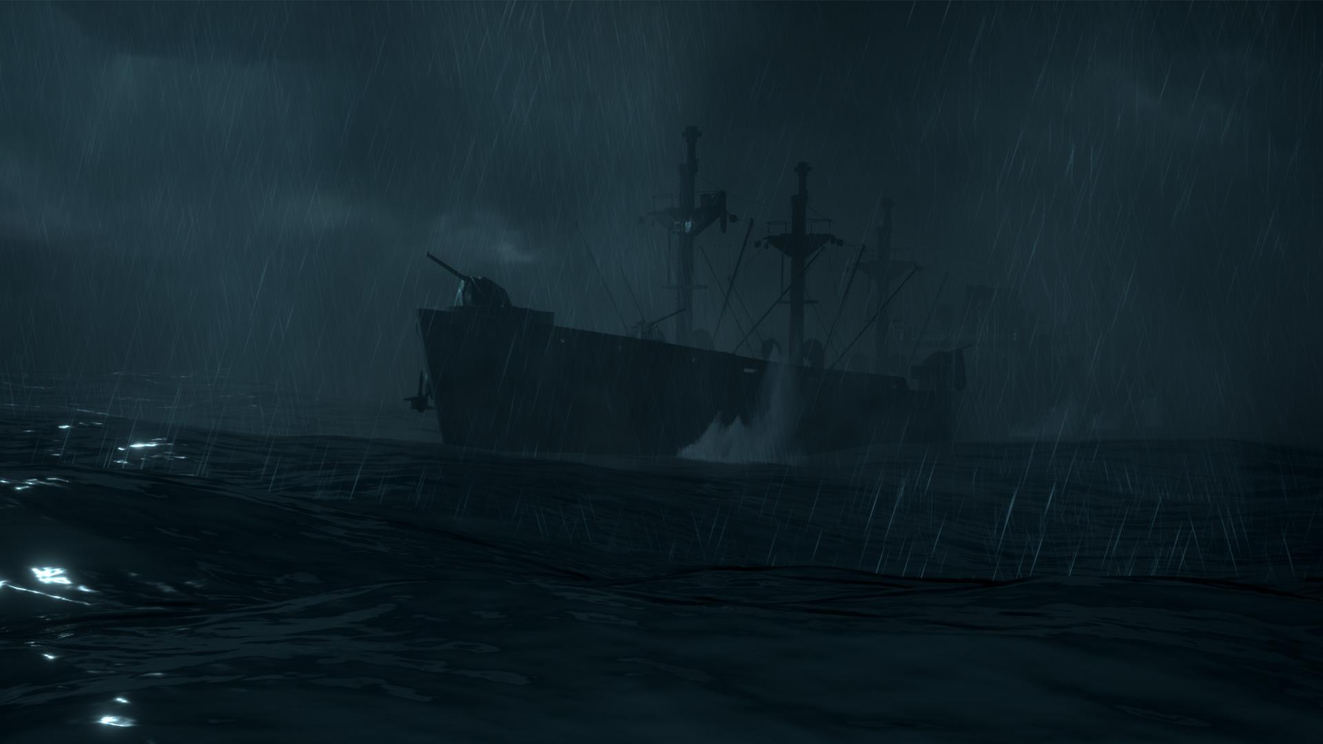 全新的惊悚体验! 踏上幽灵船,开启一段恐怖旅程.