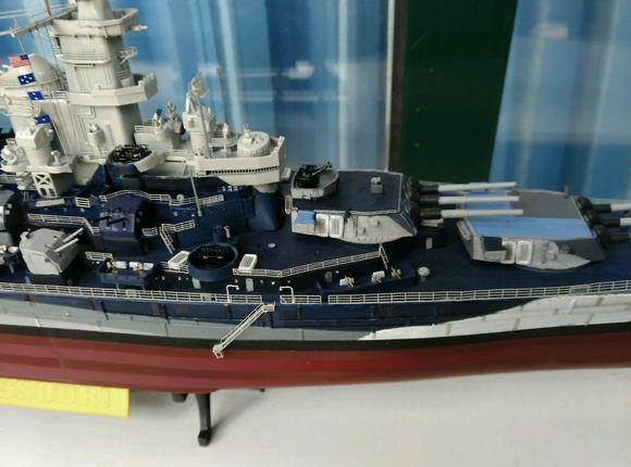 战舰世界 密苏里号战列舰模型展示