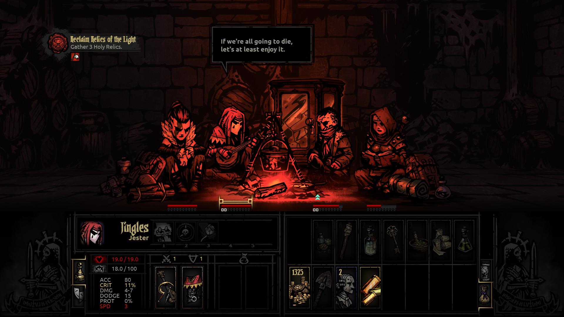 《暗黑地牢》三折起跳,赶紧来试试这款Rougelike神作吧 新游酱每日游戏推荐
