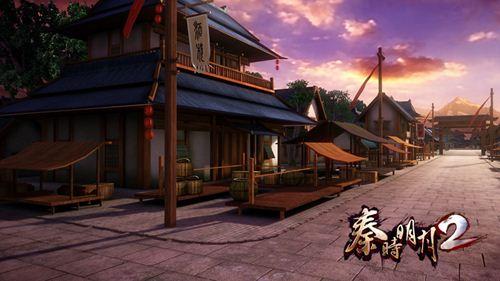 《秦时明月2》游戏场景原画设计