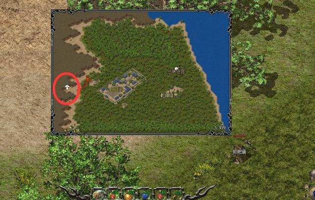 热血传奇里面的这几张地图里面有隐藏地图?没错,确实有!