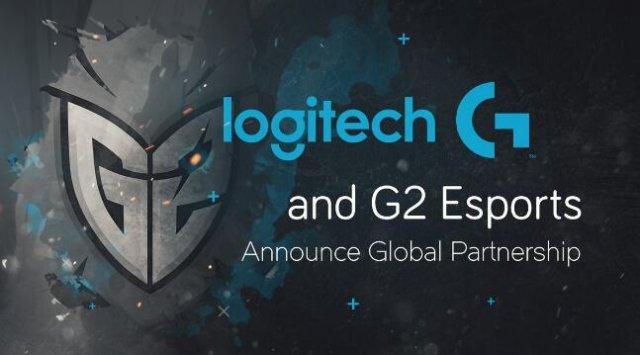 G2宣布:与Logitech G进行全球战略合作