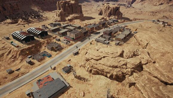 【吃鸡小课程】被称为郊区的地方-废墟