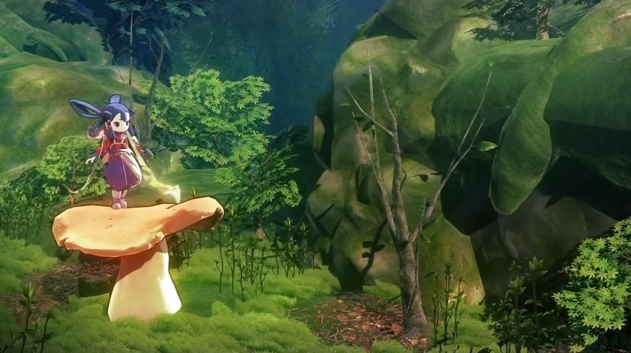 《天穗的长命草姬》实机演示 可爱萝莉神一边打怪一边种田