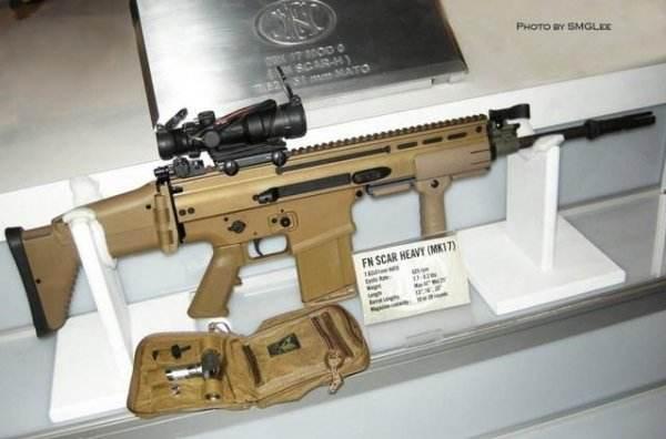 绝地求生步枪推荐:SCAR-大多数时间最好的选择