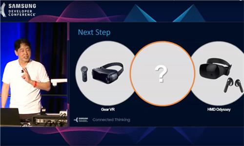 三星VR一体机亮相