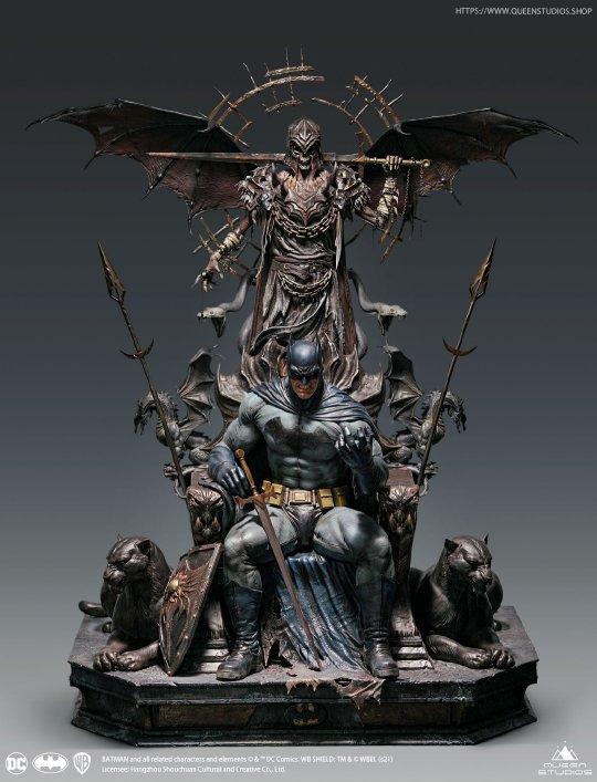 皇后工作室蝙蝠侠王座1/4全身像开启预售 售价7600元起