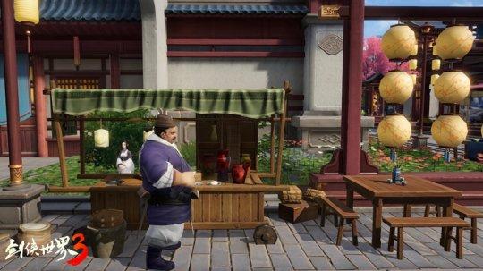 与武林高手做朋友 《剑侠世界3》NPC互动玩法曝光