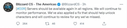 最便宜的云服务器《暗黑破坏神2:重制版》开服挤爆服务器 暴雪修复角色消失等BUG