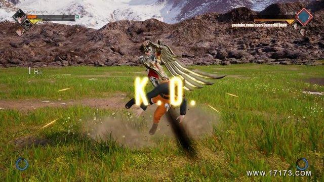 JUMP FORCE - Gameplay #11 - Custom Character, Zoro and Luffy! (Online Match) - HD_20181015105738.JPG