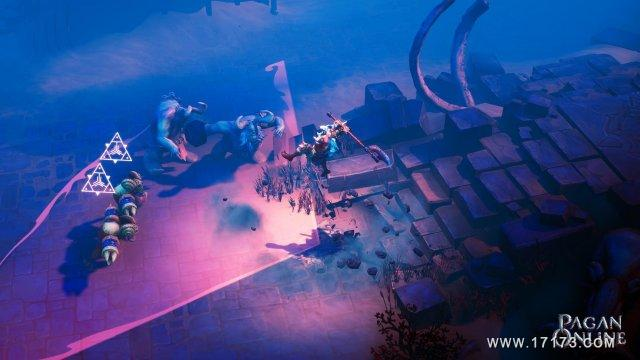 MMO新游《异教徒Online》最新游戏画面视频