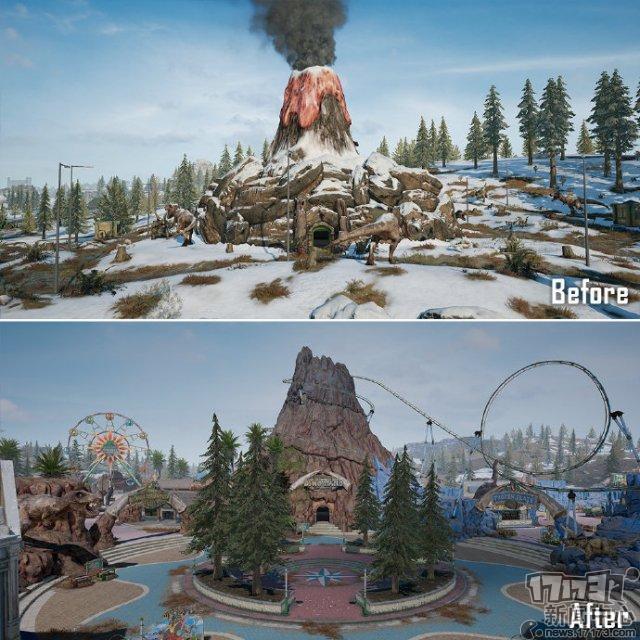 维寒迪恐龙笑园扩建前后对比 扩建后的... 来自PUBG_STEAM - 微博.jpg