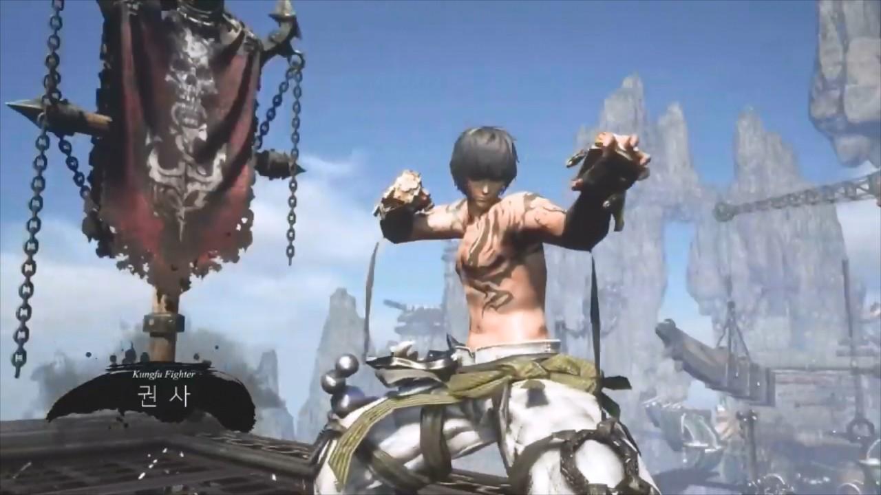 NCsoft虚幻4《剑灵》开启角色预创建新预告及演示视频曝光