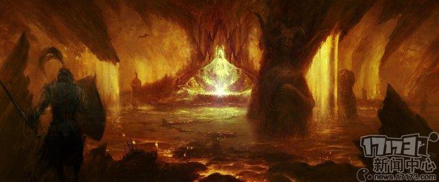 《暗黑破坏神4》官方发布游戏概念原画与游戏截图