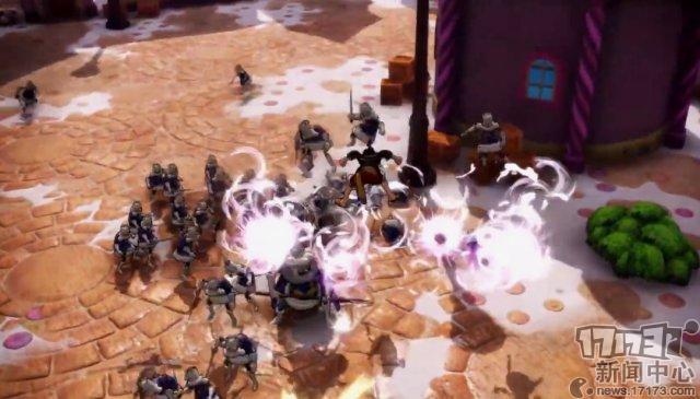 万代南梦宫发布《海贼无双4》新预告片 山治暴揍路飞形同陌路