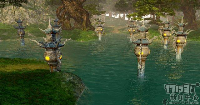 《仙侠世界2》的画面到底有牛?地图场景堪比电影《哪吒》的山河社稷图!