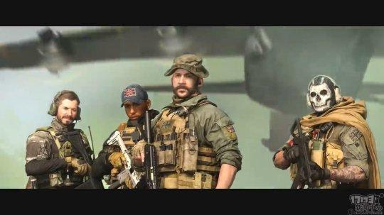 动视发布《使命召唤:战区》最新宣传片  4人组队、200人混战开启
