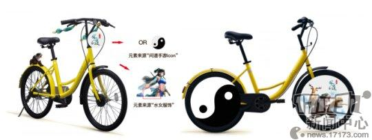 图3:坐骑化身单车设计图首曝.png
