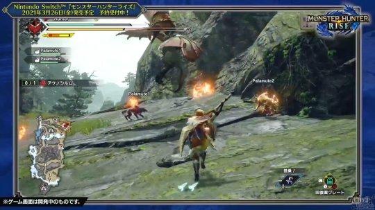 《【天游在线注册】卡普空发布《怪物猎人:崛起》新实机演示视频 展示大剑狩猎过程》