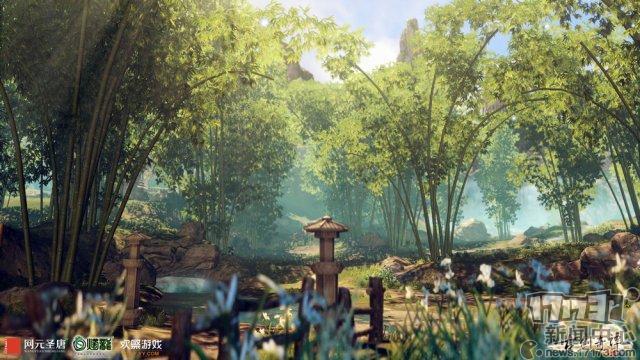 图6 《古剑奇谭网络版》怀秀村.jpg