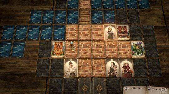 《尼尔》团队参与打造   卡牌游戏《卡牌之声:龙之岛》将于29号发售