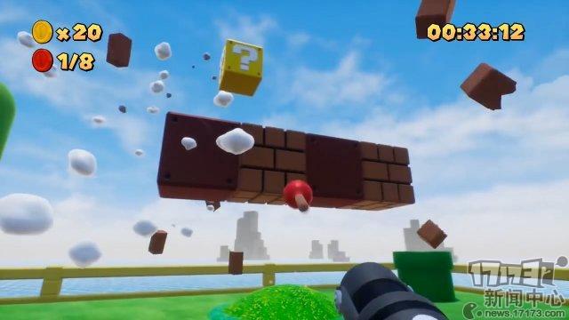 第一人称射击版马里奥!国外玩家用虚幻4制作马里奥同人射击游戏