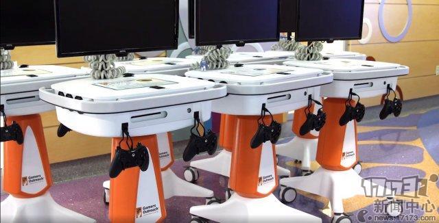 《搏斗机器5》开发商怒捐200台Xbox 将改造为医院用起伏游玩台_3DM单机.png