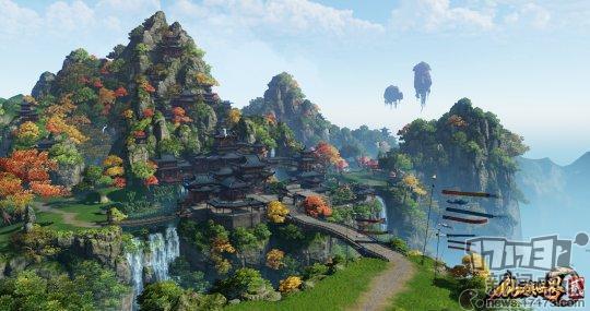 仙侠世界2:什么是神仙般的感受 就是可以一直飞