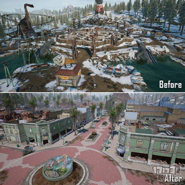 维寒迪恐龙笑园扩建前后对比 扩建后的... 来自PUBG_STEAM - 微博_5.jpg