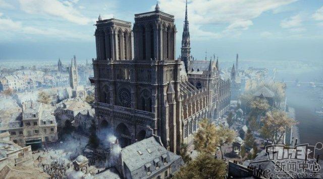 《刺客信�l大革命》:在游�蛑羞�原巴黎圣母院的美