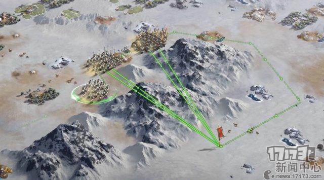 图4:真实地形阻隔,沿着山脉行军.png