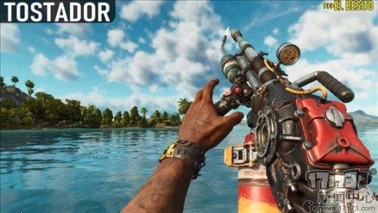 野路子武器的魅力!《孤岛惊魂6》全武器演示视频