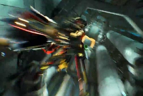 星际战甲试验性飞行与翅膀种类