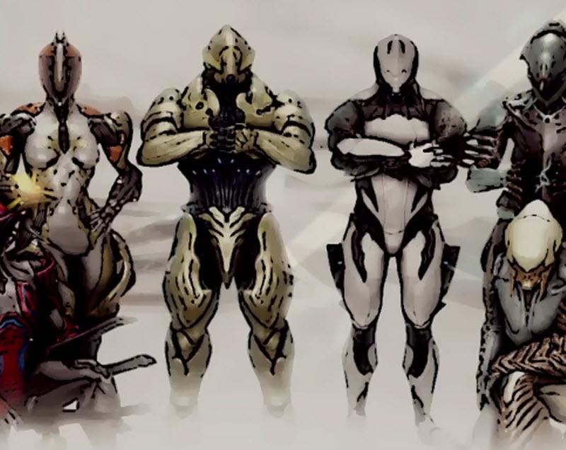 星际战甲 ASH月读外观红夜骑士配色优化设计