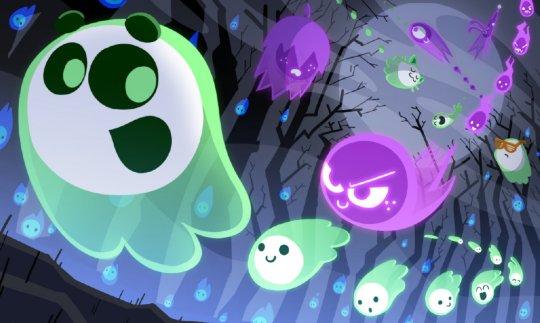 谷歌推万圣节主题网页游戏《The Great Ghoul Duel!