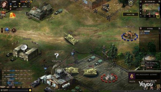 二战战棋类网页游戏_重返二战炮火全开 二战网页游戏《坦克营》试玩