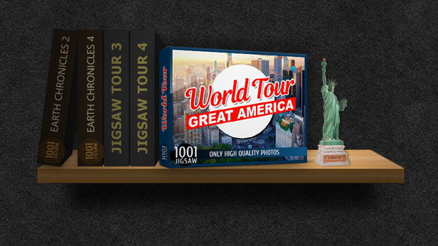 1001 Jigsaw. World Tour: Great America