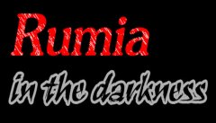 Rumia in the darkness